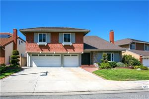 Photo of 6417 E Lookout Lane, Anaheim Hills, CA 92807 (MLS # PW19235021)