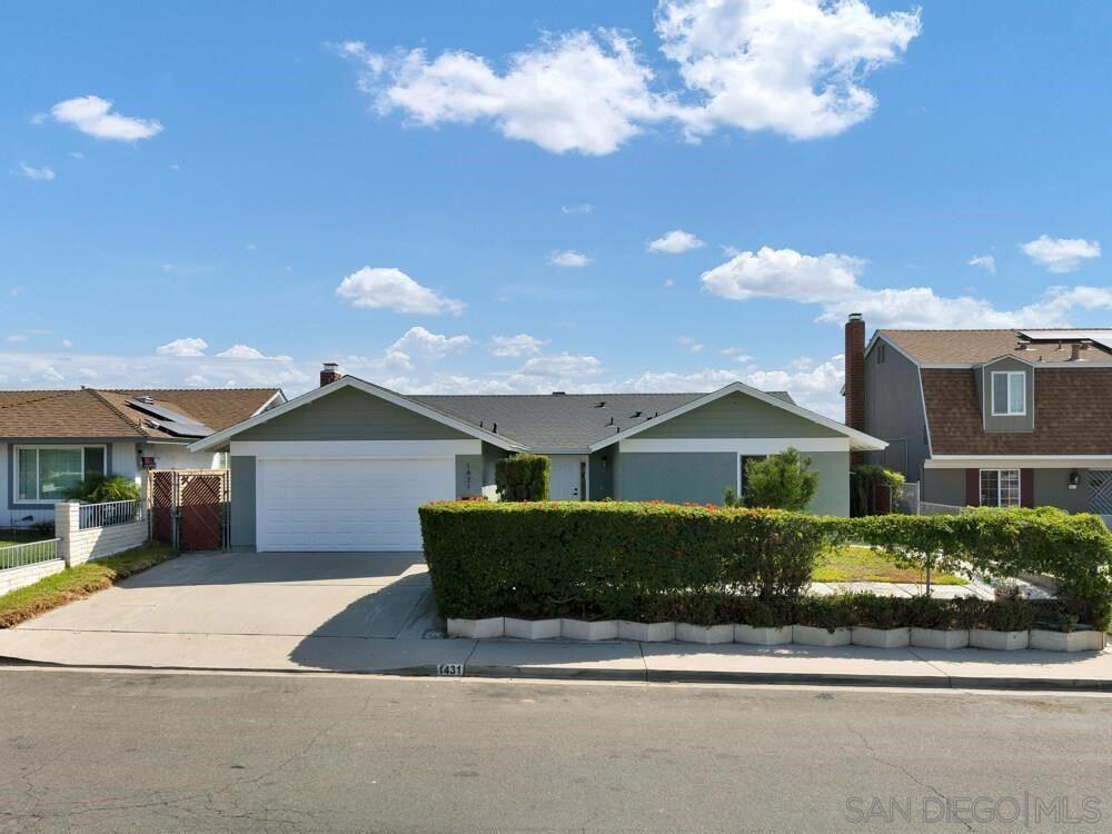 1431 Camellia, Chula Vista, CA 91911 - MLS#: 210026021