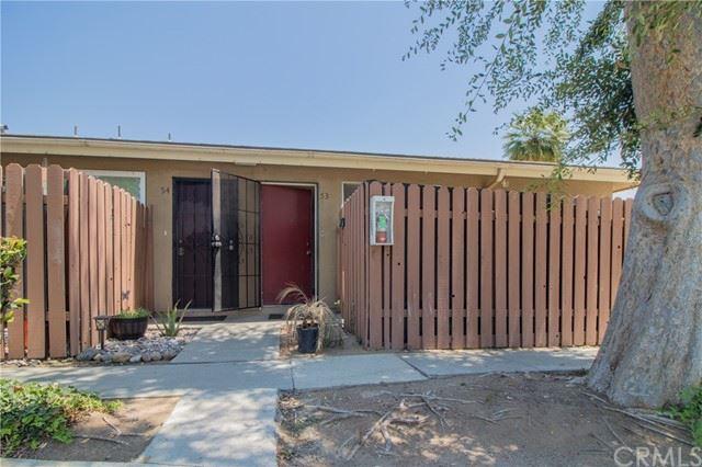 4733 Jackson Street #53, Riverside, CA 92503 - MLS#: IV21145054