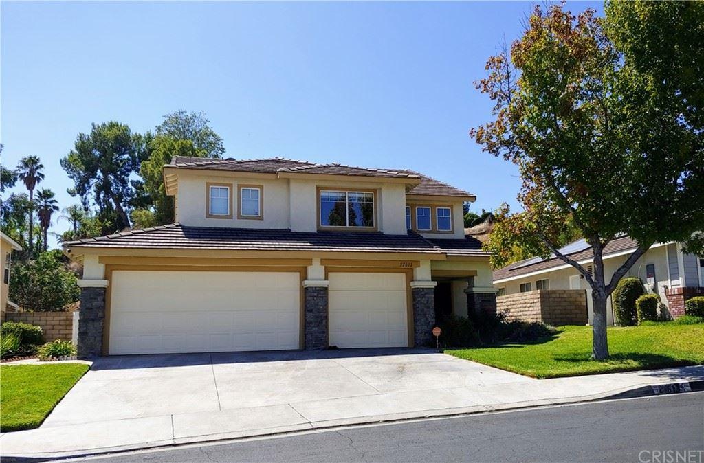 27613 Ron Ridge Drive, Santa Clarita, CA 91350 - MLS#: SR21196073