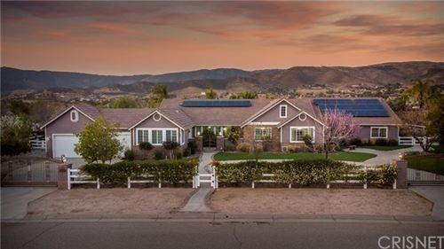 Photo of 9853 Sweetcap Lane, Agua Dulce, CA 91390 (MLS # SR21069077)