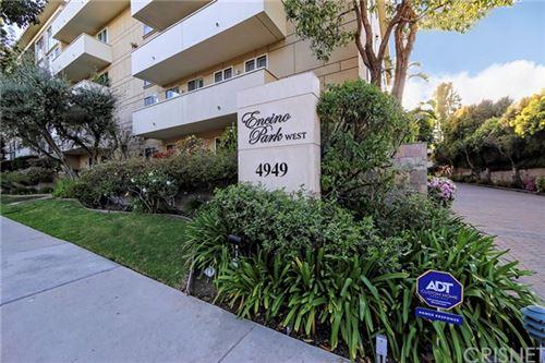Photo of 4949 Genesta Avenue #105, Encino, CA 91316 (MLS # SR21075078)