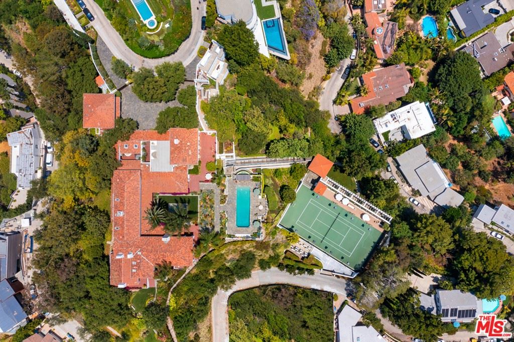 Photo of 9402 Beverly Crest Drive, Beverly Hills, CA 90210 (MLS # 21759080)