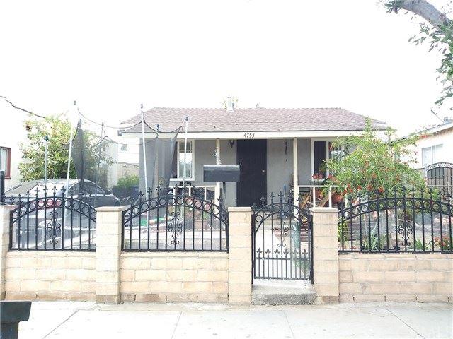 4753 Ivy Street, Pico Rivera, CA 90660 - MLS#: MB21094089