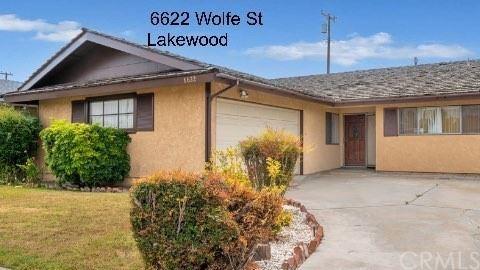 6622 Wolfe Street, Lakewood, CA 90713 - MLS#: IV21142112
