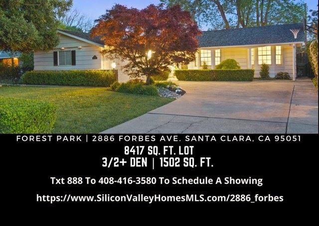 2886 Forbes Avenue, Santa Clara, CA 95051 - #: ML81835121