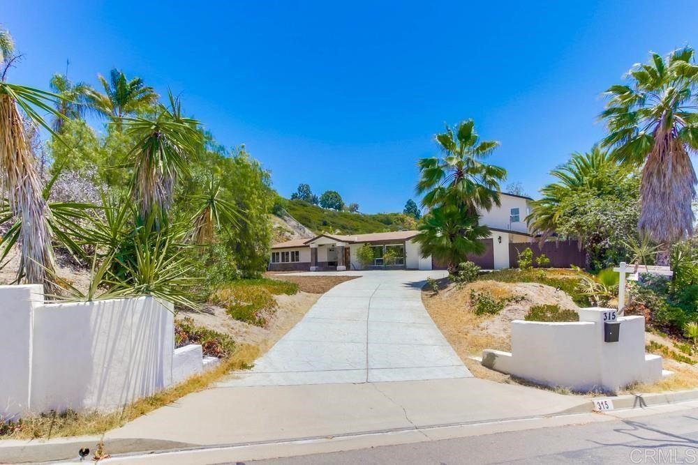 315 Camino del Cerro Grande, Bonita, CA 91902 - MLS#: PTP2104123