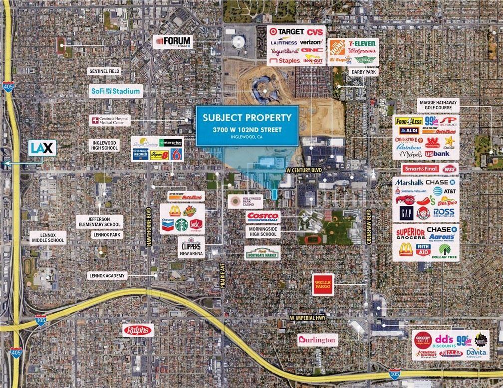 Photo of 3700 W 102nd St, Inglewood, CA 90303 (MLS # SB20237126)