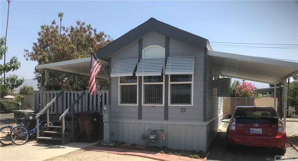 25521 N Lincoln Avenue #75, Hemet, CA 92544 - MLS#: SW21185146