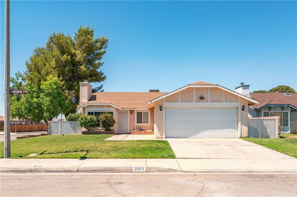 2163 W Avenue K14, Lancaster, CA 93536 - MLS#: SR21144191