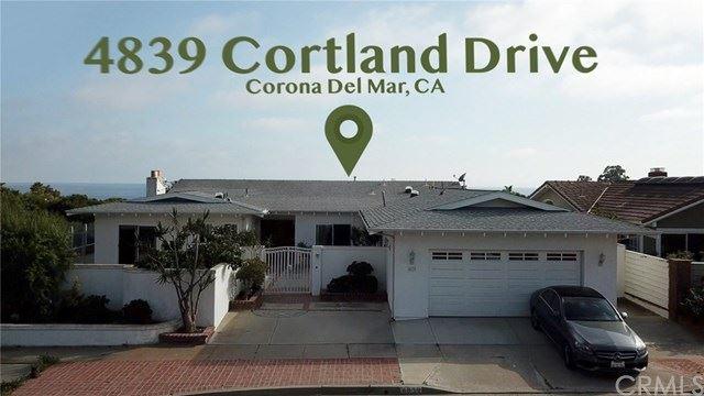 4839 Cortland Drive, Corona del Mar, CA 92625 - MLS#: NP20121192
