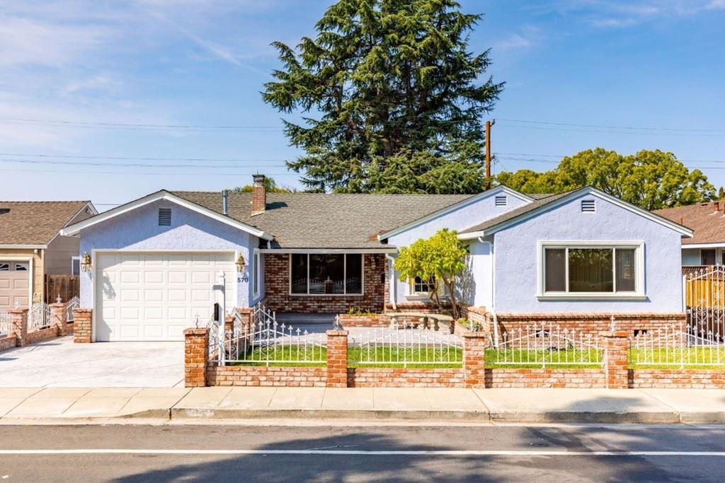 570 Saratoga Avenue, Santa Clara, CA 95050 - MLS#: ML81866214