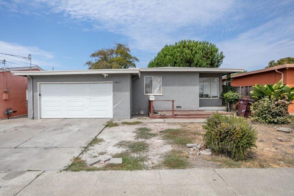 467 Perkins Drive, Hayward, CA 94541 - MLS#: ML81862234