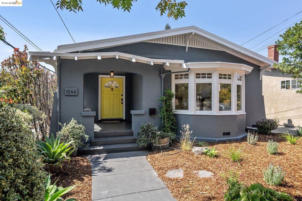 1244 Ordway St, Berkeley, CA 94706 - MLS#: 40966239