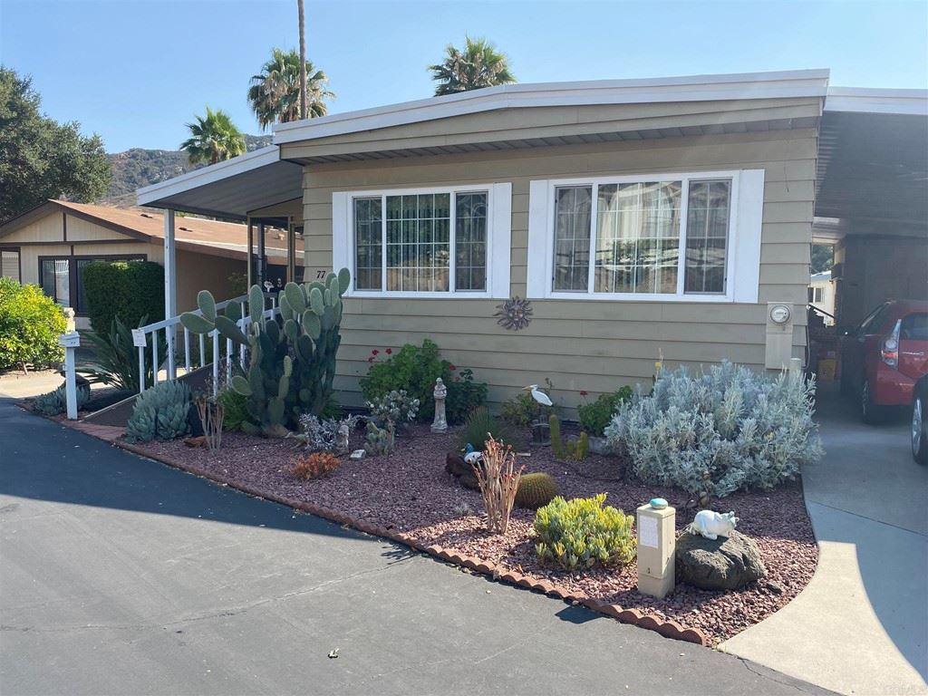 8975 Lawrence Welk Drive #SPC 77, Escondido, CA 92026 - MLS#: NDP2108242