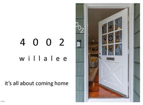 Photo of 4002 Willalee Avenue, Glendale, CA 91214 (MLS # P1-1275)
