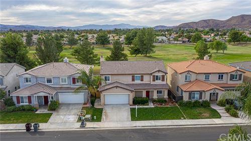 Photo of 29755 Peacock Mountain Drive, Menifee, CA 92584 (MLS # SW20222277)