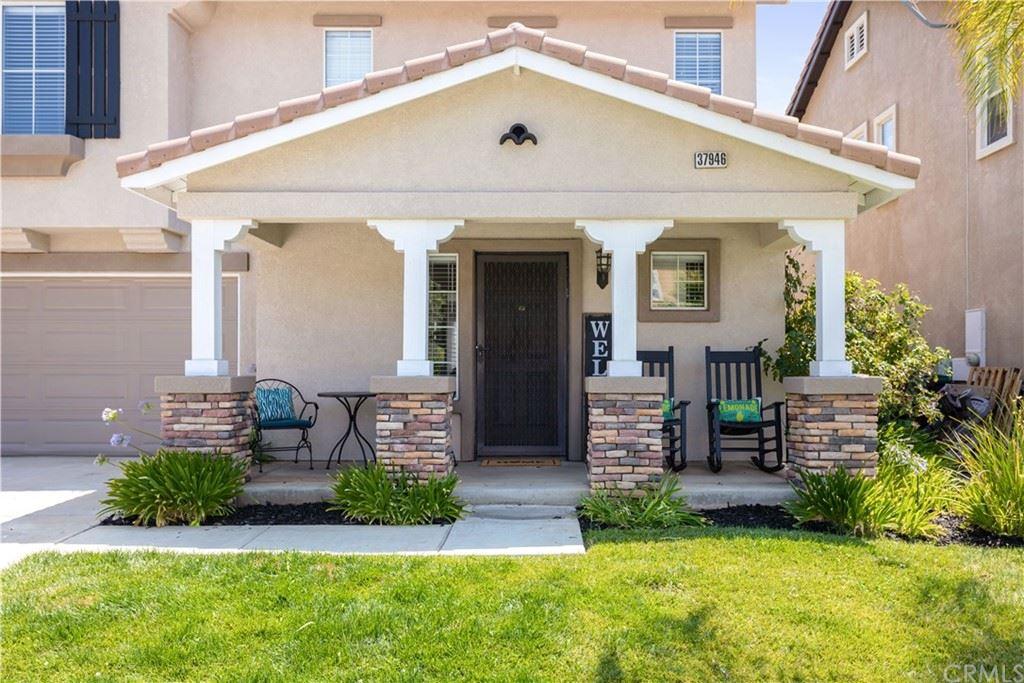 37946 Woodleaf Street, Murrieta, CA 92562 - MLS#: EV21161278