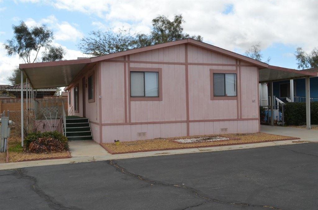 9161 Santa Fe Avenue E #67, Hesperia, CA 92345 - MLS#: 533298