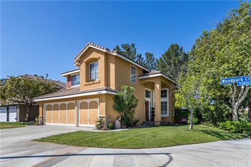 Photo of 23820 Woodpark Court, Valencia, CA 91354 (MLS # SR21102303)