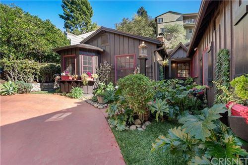 Photo of 3236 Benda Street, Hollywood Hills East, CA 90068 (MLS # SR21025322)