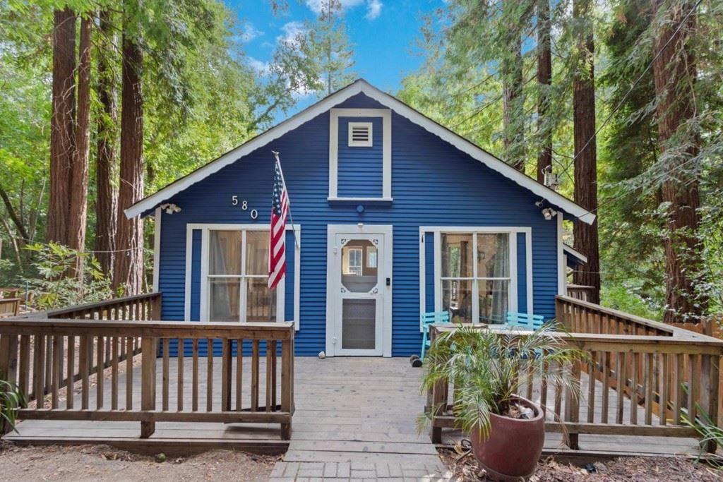 580 River Road, Boulder Creek, CA 95006 - MLS#: ML81866323