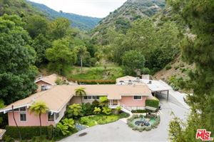 Photo of 3375 MANDEVILLE CANYON Road, Los Angeles, CA 90049 (MLS # 19472328)
