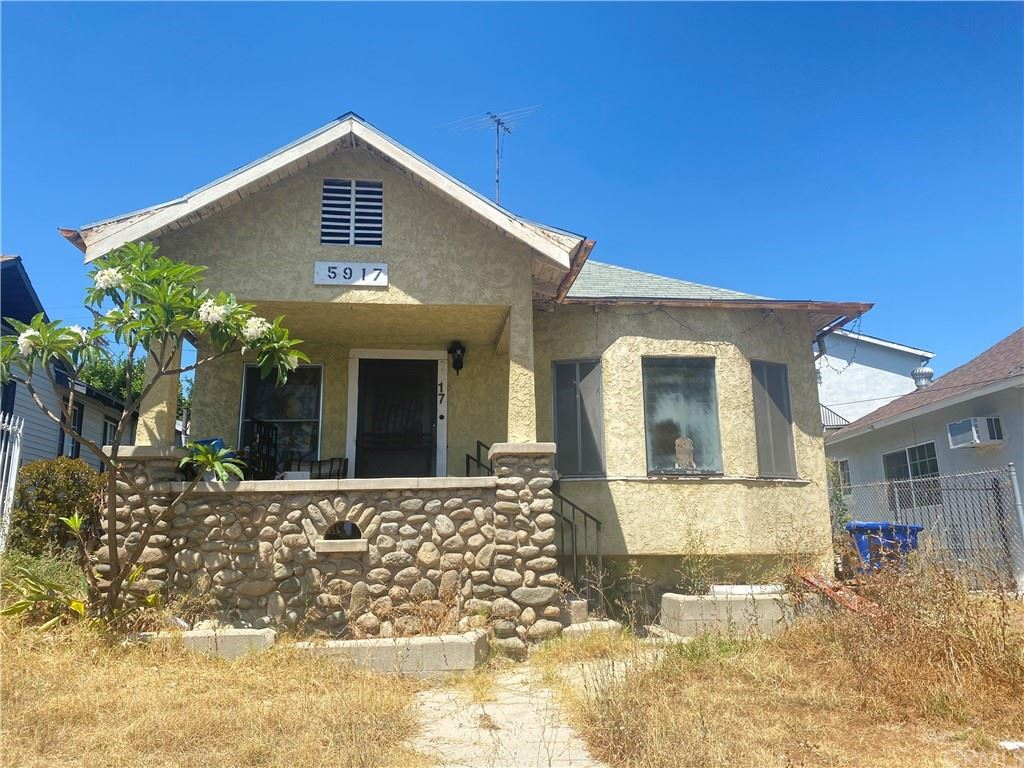 5917 Fayette Street, Los Angeles, CA 90042 - MLS#: CV21170347