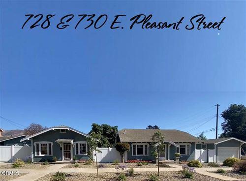 Photo of 728 & 730 E Pleasant Street, Santa Paula, CA 93060 (MLS # V1-7365)