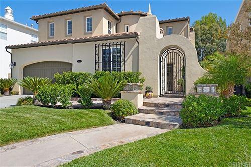 Photo of 24607 Garland Drive, Valencia, CA 91355 (MLS # SR21211389)
