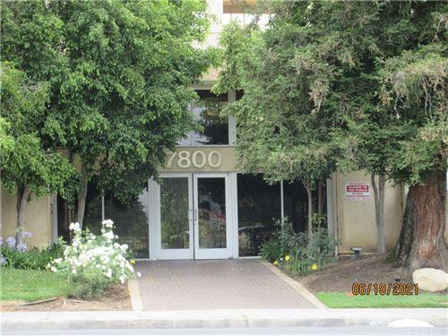 Photo of 7800 Topanga Canyon Boulevard #214, Canoga Park, CA 91304 (MLS # SR21132392)