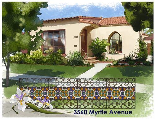 Photo of 3560 Myrtle Avenue, Long Beach, CA 90807 (MLS # PW21129395)