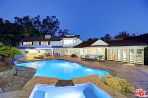Photo of 2660 BENEDICT CANYON Drive, Beverly Hills, CA 90210 (MLS # 19481410)