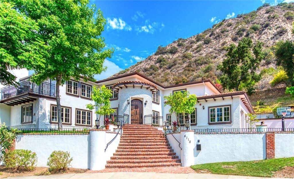 4118 Park Vista Drive, Pasadena, CA 91107 - MLS#: PF21156439