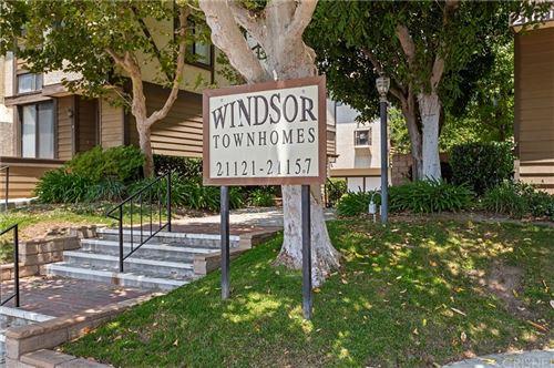 Photo of 21121 Lassen Street #3, Chatsworth, CA 91311 (MLS # SR21152448)
