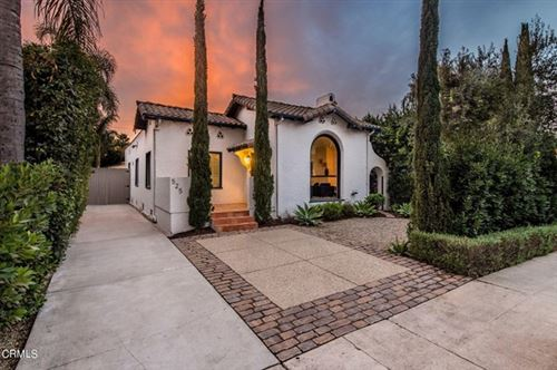 Photo of 525 N Sierra Bonita Avenue, Los Angeles, CA 90036 (MLS # P1-2450)