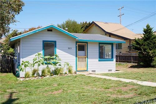 Photo of 965 Pacific Street, Morro Bay, CA 93442 (MLS # SC20160462)