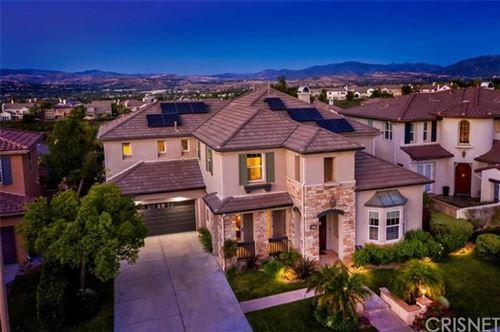 Photo of 26932 Boulder Crest Drive, Valencia, CA 91381 (MLS # SR20104463)