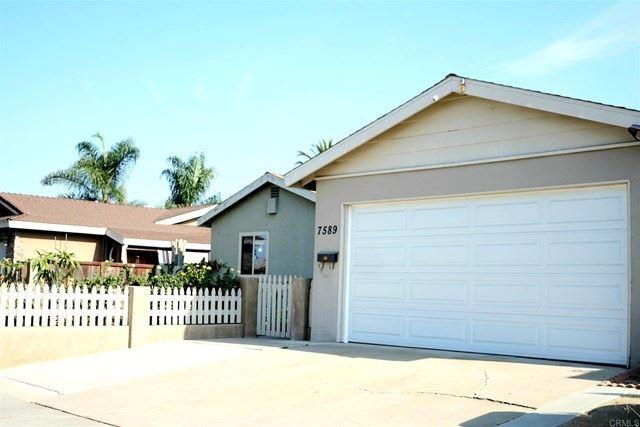 7589 Prairie Mound Way #1, San Diego, CA 92139 - MLS#: PTP2000476