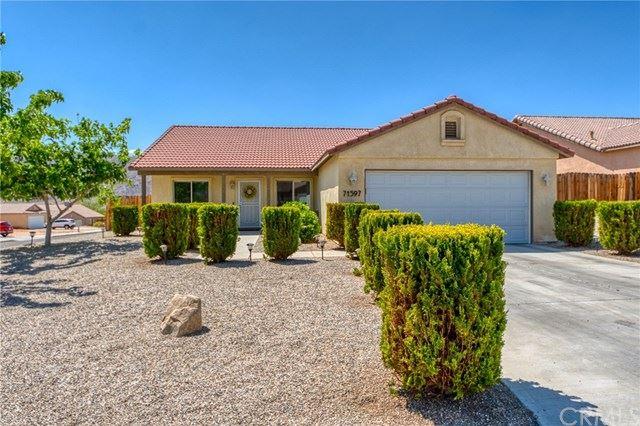 71597 Sun Valley Drive, Twentynine Palms, CA 92277 - MLS#: JT21086491