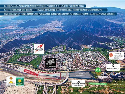 Photo of 0 Highway 111, Indian Wells, CA 92210 (MLS # 219040424DA)