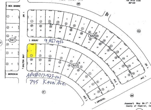 795 Kauai Avenue, Salton City, CA 92275 - #: 219046054DA