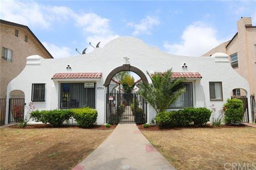Photo of 2351 Chestnut Avenue, Long Beach, CA 90806 (MLS # RS21130500)