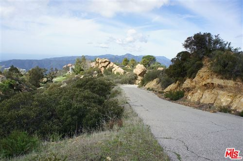 Photo of 0 W SADDLE PEAK Road, Malibu, CA 90265 (MLS # 21794504)