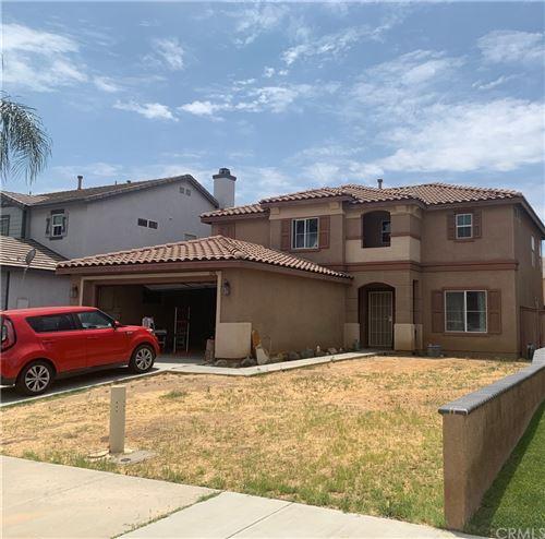 Photo of 3296 Oakleaf Lane, Perris, CA 92571 (MLS # SB21161506)