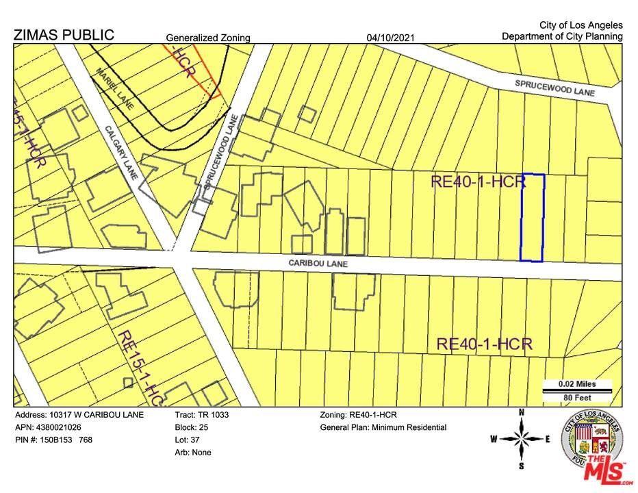 Photo of 10317 caribou Lane, Bel Air, CA 90077 (MLS # 21717514)