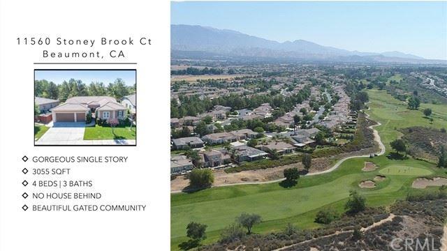 11560 Stoney Brook Court, Beaumont, CA 92223 - MLS#: SW21124521