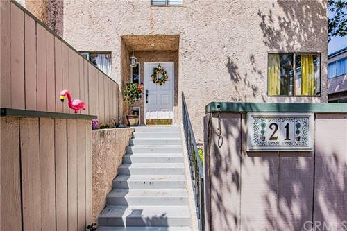Photo of 7900 Topanga Canyon Boulevard #21, Canoga Park, CA 91304 (MLS # SB21090536)