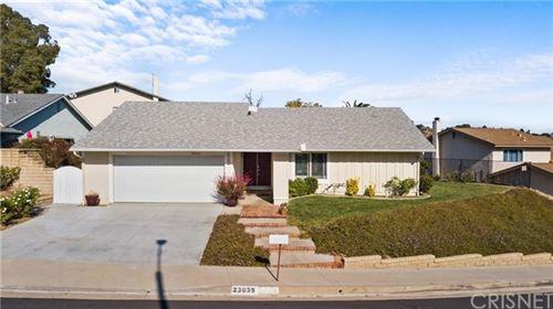 Photo of 23035 Garzota Drive, Valencia, CA 91354 (MLS # SR20247539)