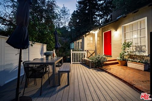Photo of 8778 Lookout Mountain Avenue, Los Angeles, CA 90046 (MLS # 21684546)